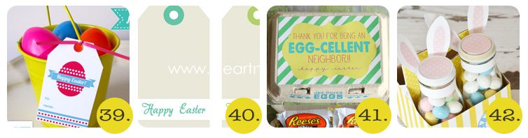 Chrissy - 50+ Free Easter Printables -39-42