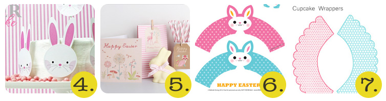 Chrissy - 50+ Free Easter Printables - 4-7