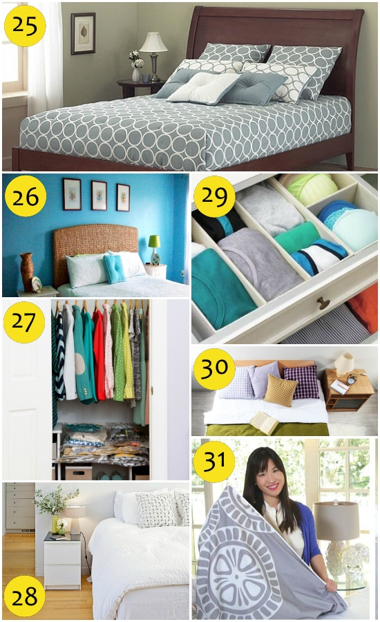 Spring Cleaning tips for the Bedroom