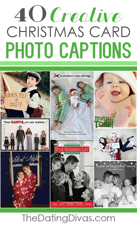 40 Creative Christmas Card Photo Captions