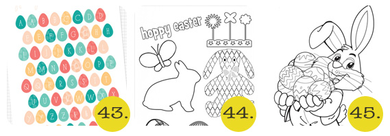 Chrissy - 50+ Free Easter Printables -43-45
