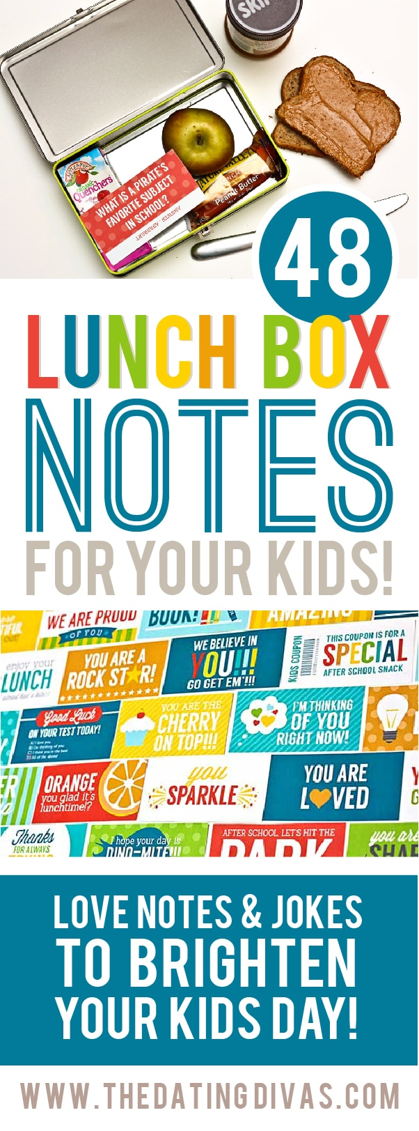 Lunch Box Notes and Lunch Box Jokes for Kids