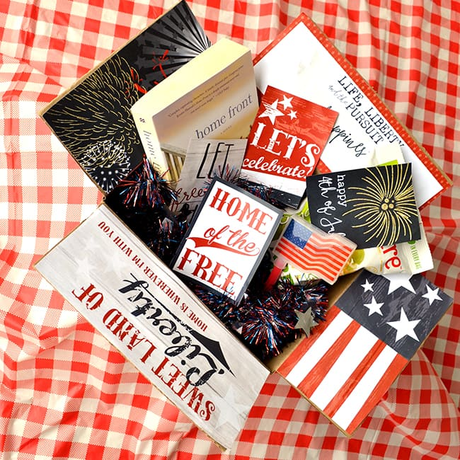 4th of July Care Package Decorations