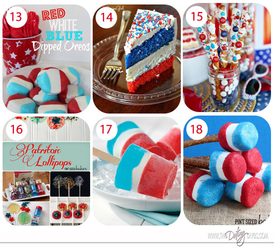 Fourth of july foods
