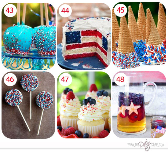 Fourth of july sweets