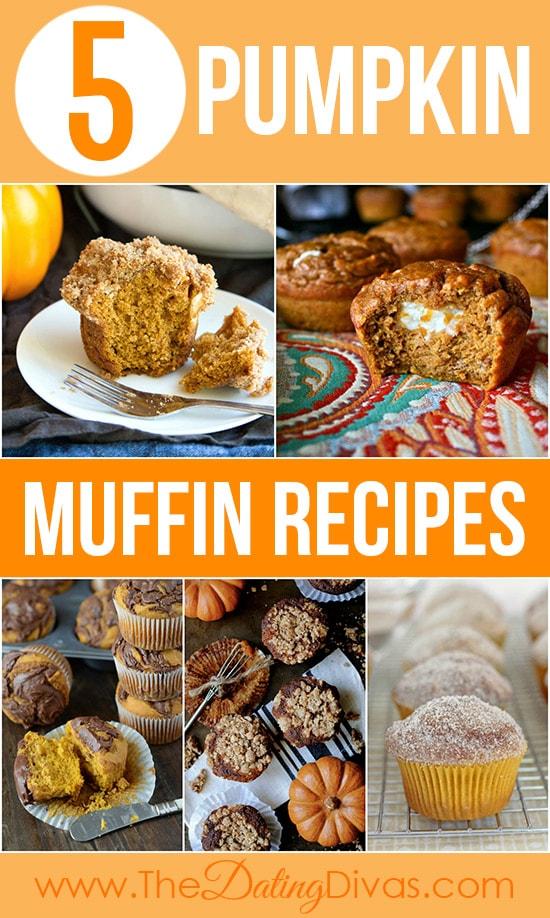 5 Pumpkin Muffin Recipes