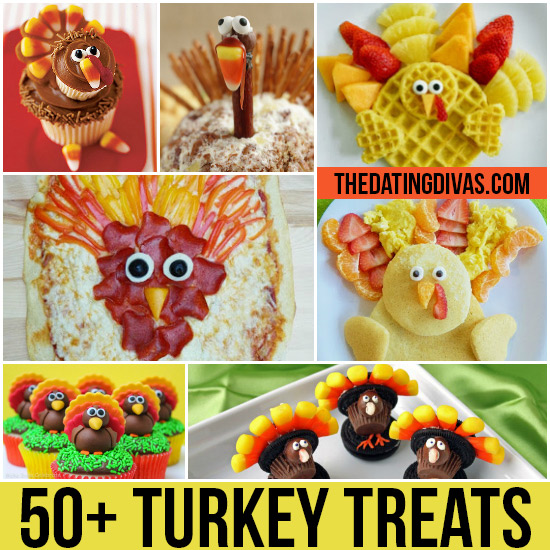 50+ Fun Thanksgiving Food Ideas & Turkey Treats