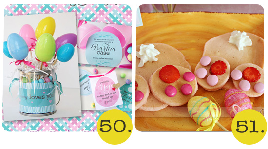 easter treat printables