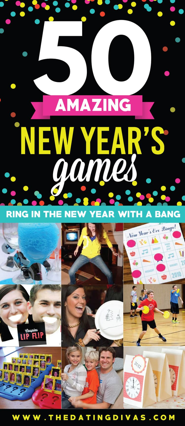 50 Amazing Games for Your New Year's Party