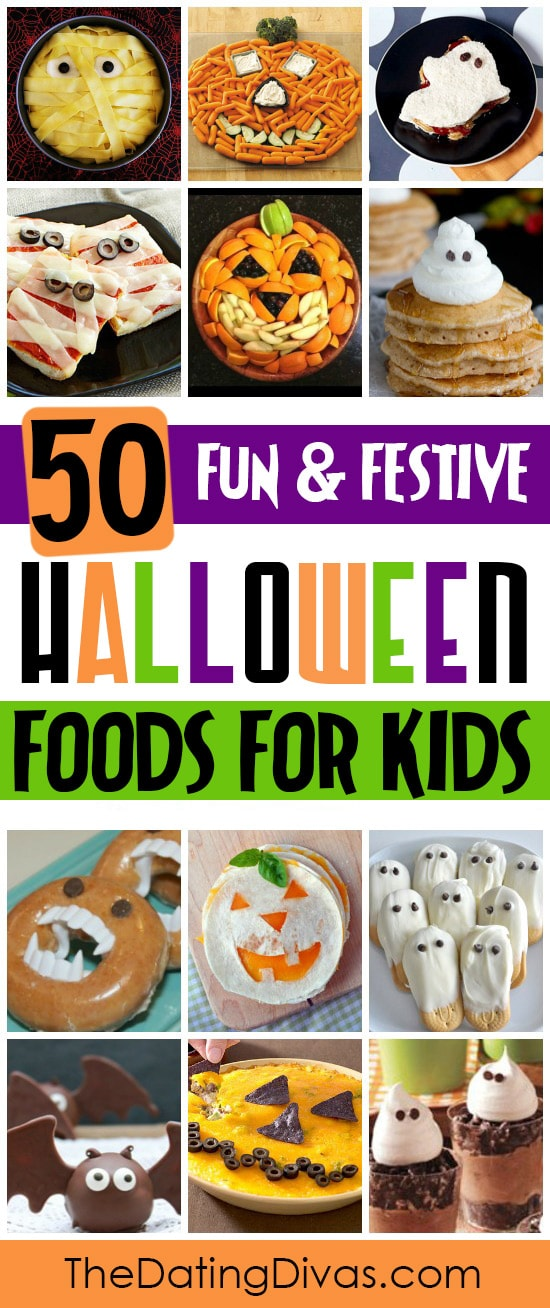 50 Fun and Festive Halloween Foods for Kids