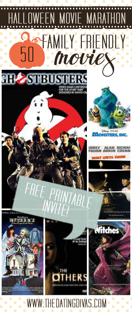 50 awesome family friendly halloween movies