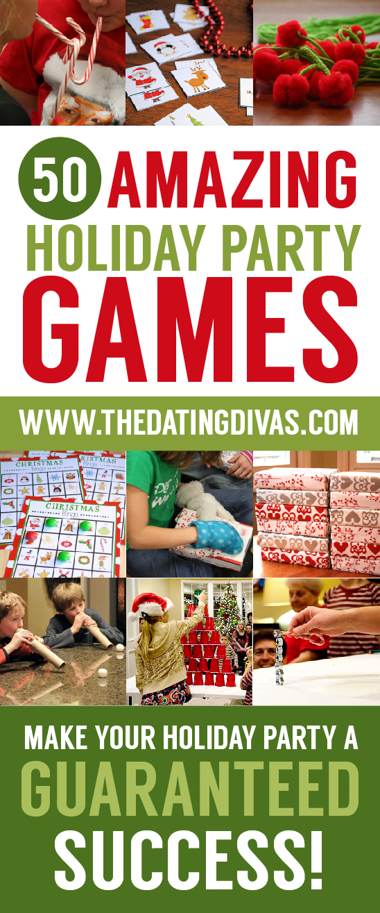 I love this list of fun Christmas party games! These Christmas games will add so much fun to our holiday celebrations! #Christmasgames #Christmaspartygames