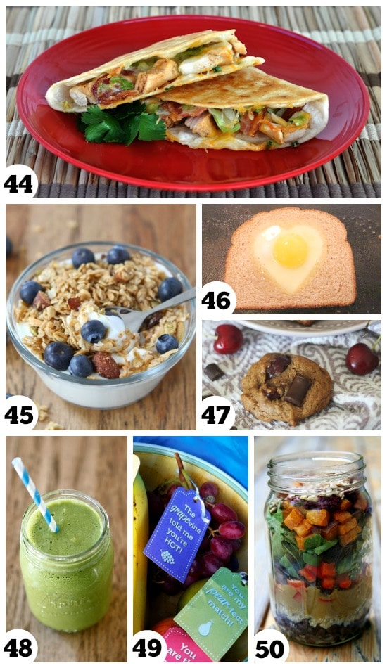 Delicious and healthy recipes that are perfect for dates