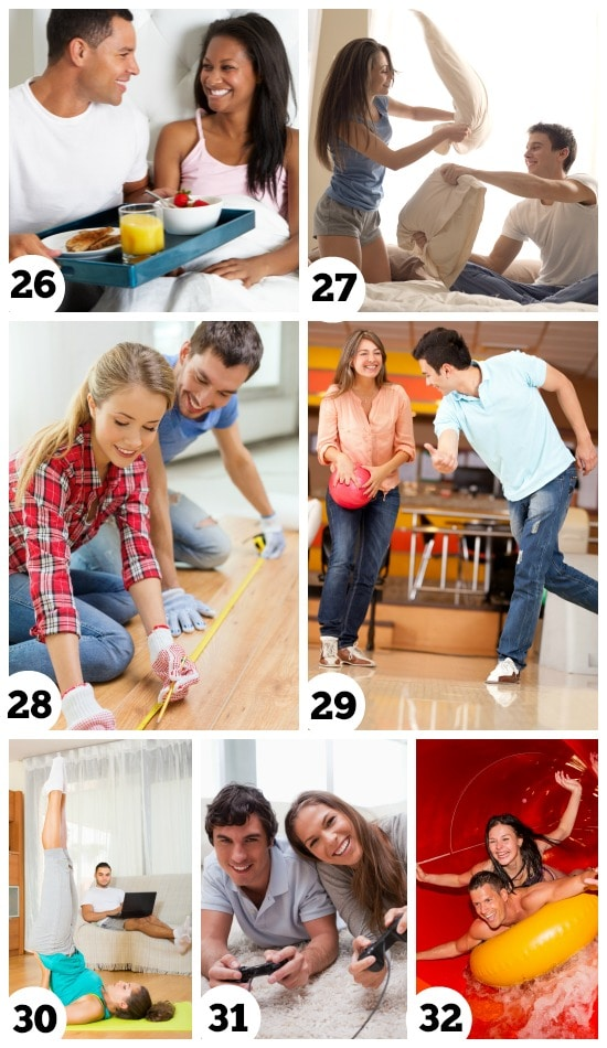 Fun indoor dates for every couple