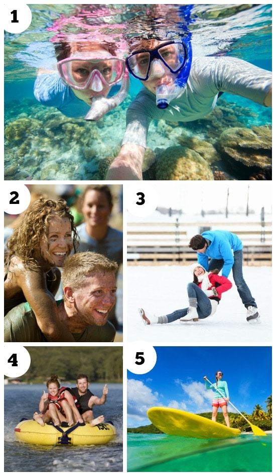 Couple workout outdoor date ideas!