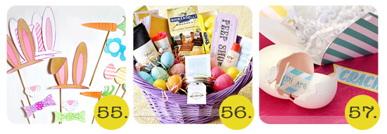 easter photo prop and basket