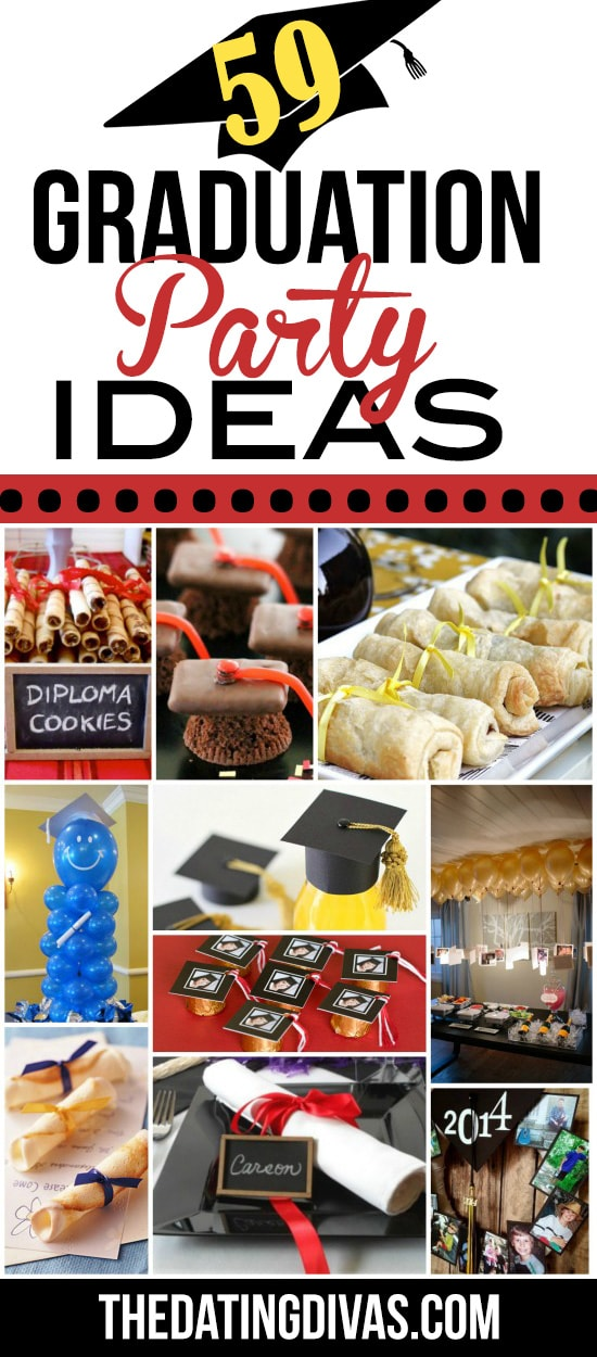 59 Graduation Party Ideas