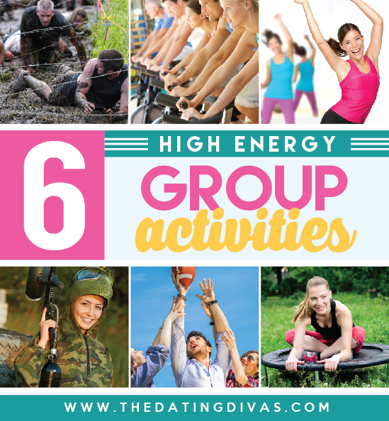 High energy activities for friends