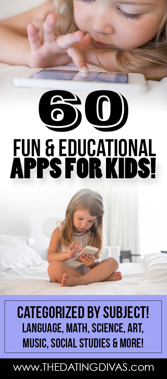 60 Fun and Educational Apps for Kids