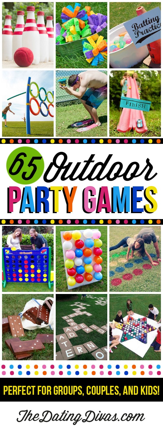 This list of fun games for kids doubles as outdoor party games for the entire family! #OutdoorGames #PartyGames #SummerFun