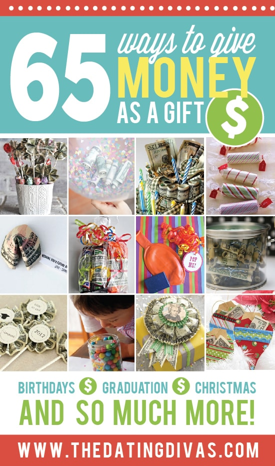 65 Ways To Give Money As A Gift From The Dating Divas