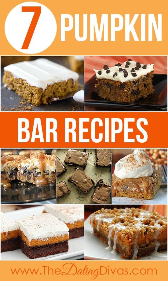 7 Pumpkin Bar Recipes