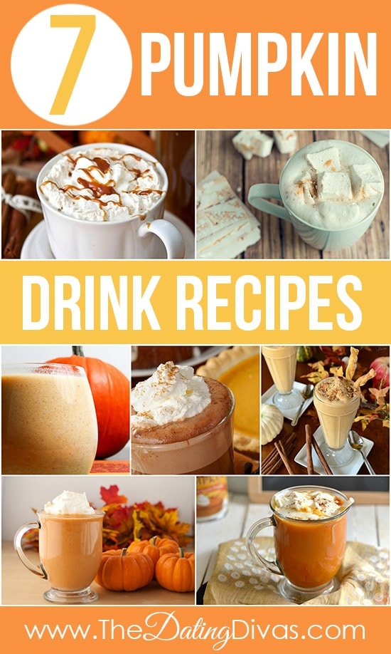 7 Pumpkin Fall Drinks