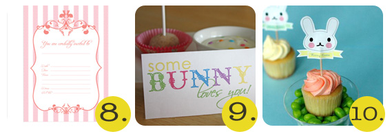 Chrissy - 50+ Free Easter Printables - 8-10