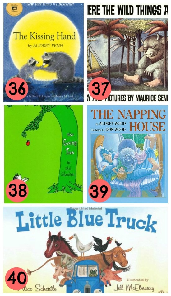 8- favorite childrens books