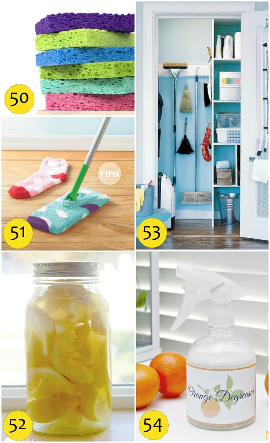 Spring Cleaning Tips Using Homemade Cleaners