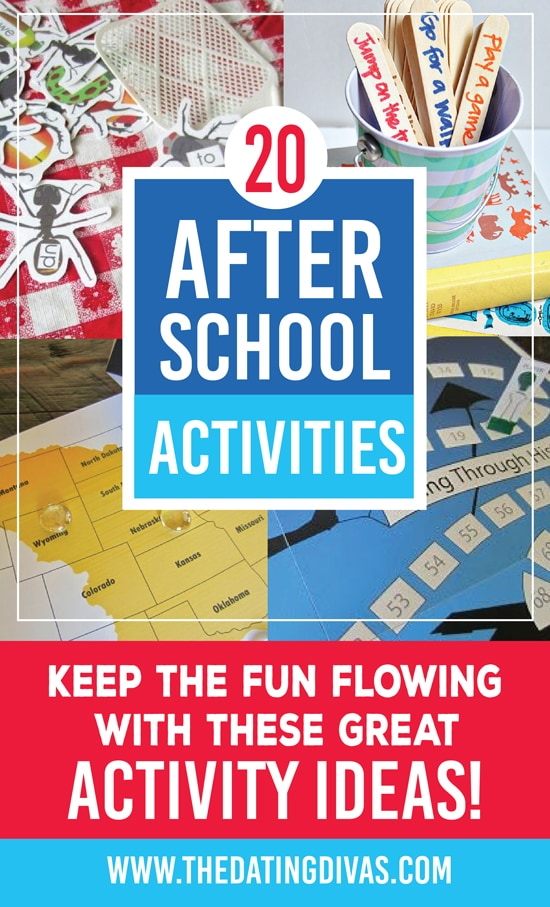 80 After School Activity Ideas
