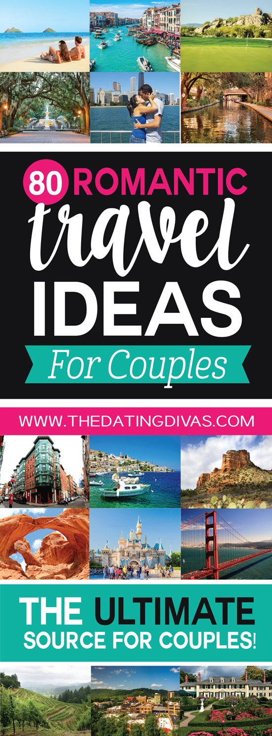 100 romantic vacations and honeymoons