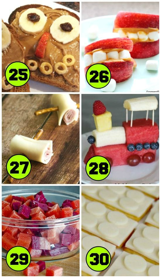 80 Good After School Snacks