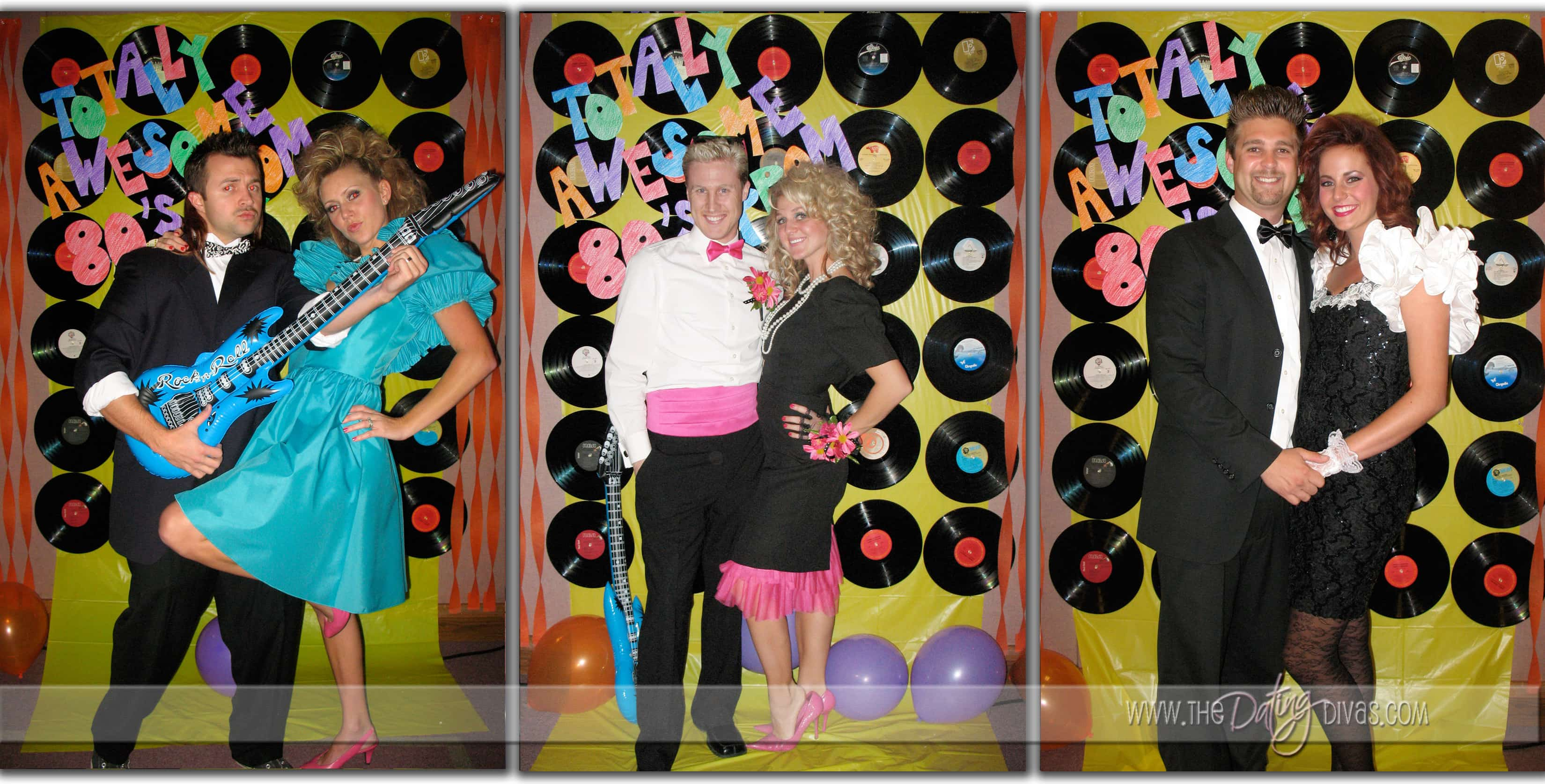 Totally awesome 80 39 s prom for 1980s party decoration ideas