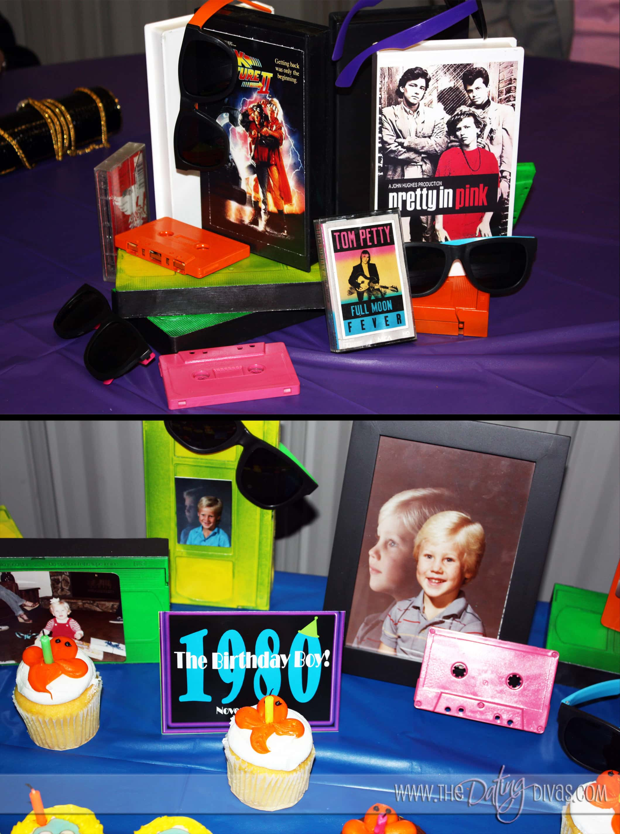 Totally awesome 80 39 s prom for 80 s table decoration ideas