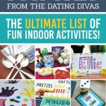 Indoor Boredom Buster Games and Activities for the Whole Family!