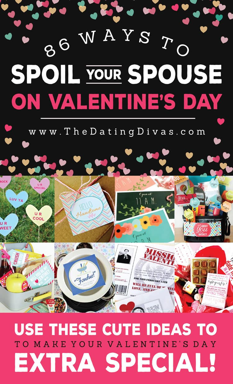 valentines day ideas for spouse banner collage