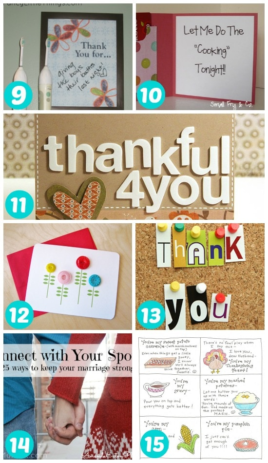 9-15 ways to say thank you to your spouse