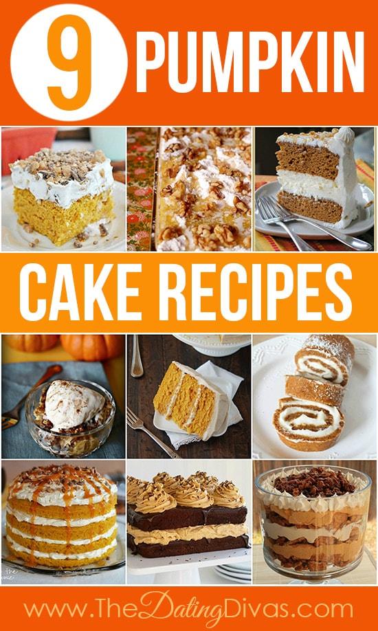 9 Pumpkin Cake Recipes