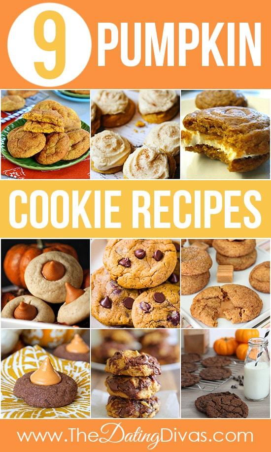 9 Pumpkin Cookie Recipes