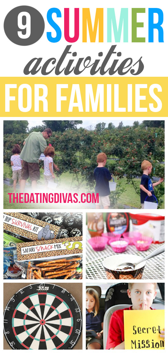 9 Summer Activities for Families