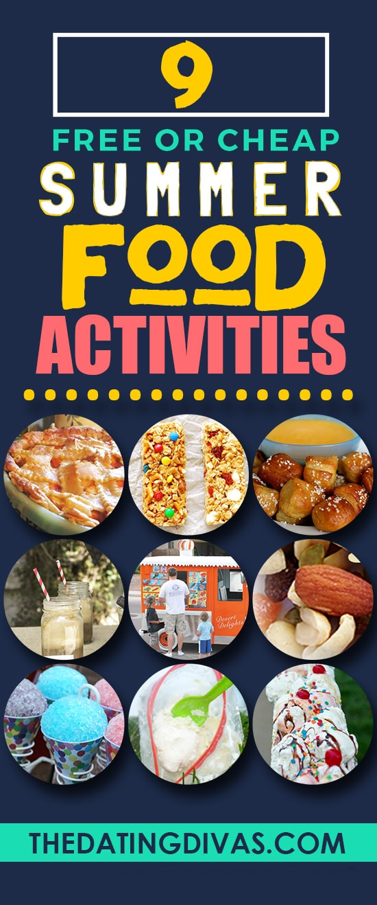 Fun Summer Food Activities