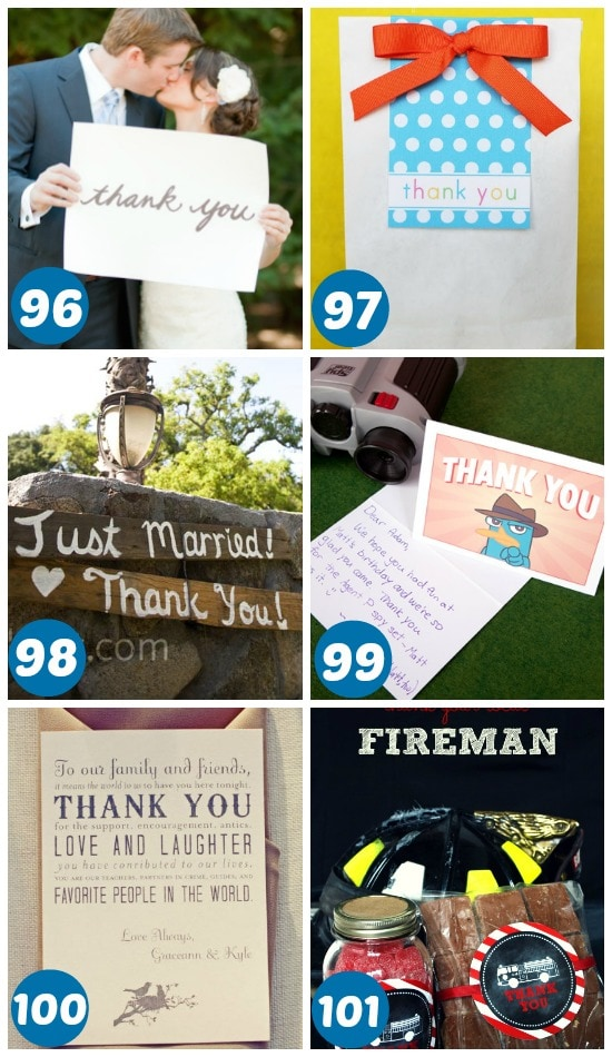 96-101 ways to say thank you for special occasions