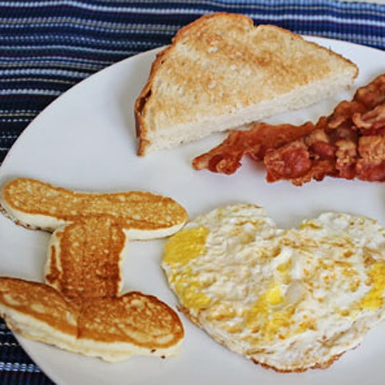 A Hearty Breakfast quick romance idea