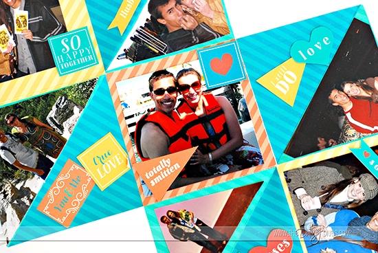 Accordion Book Memory Book Gift Idea
