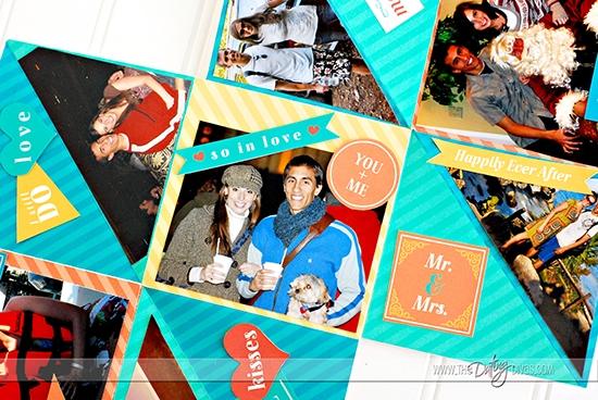 Accordion Book Anniversary Gift Idea