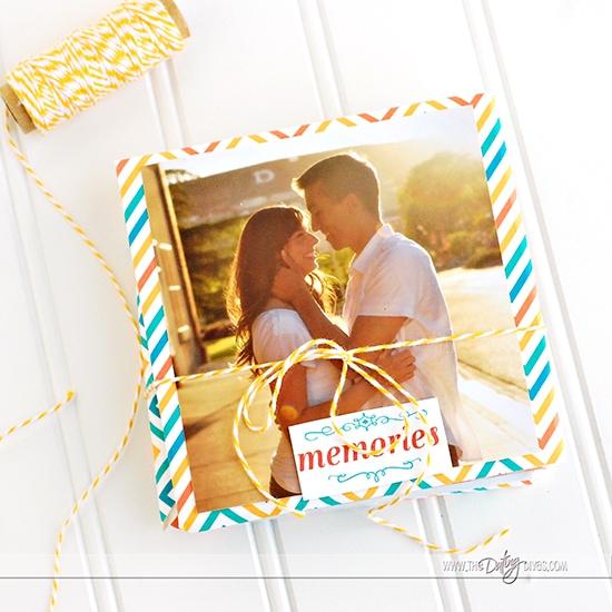 Accordion Book Anniversary Gift Idea For Spouse