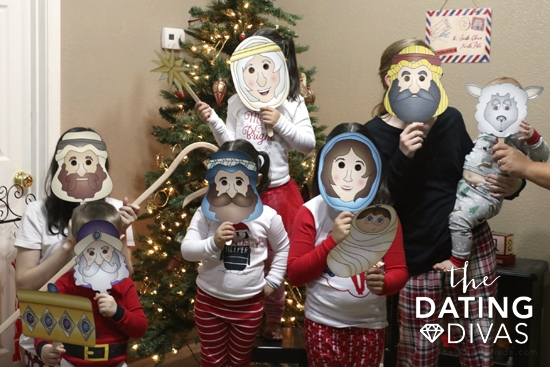 Act Out the Nativity Story - Christmas Family Traditions