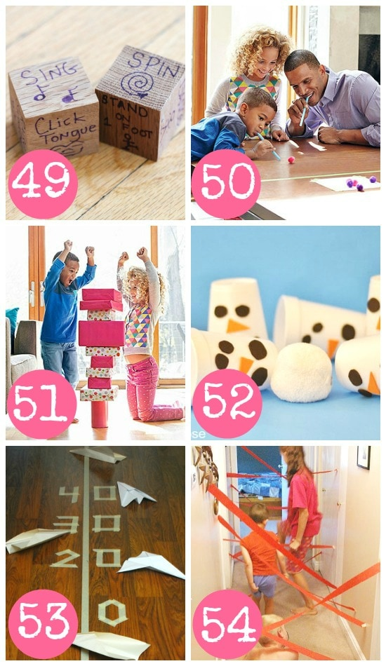 Fun Indoor Games for the Whole Family