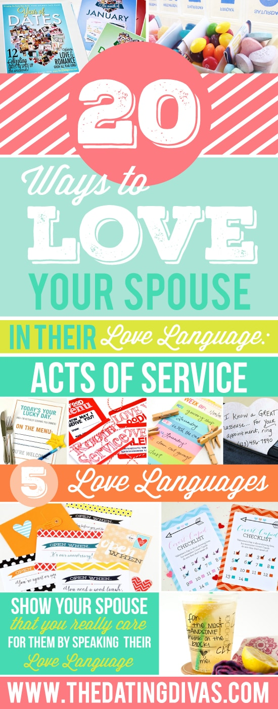Serve your spouse daily to show that you care.
